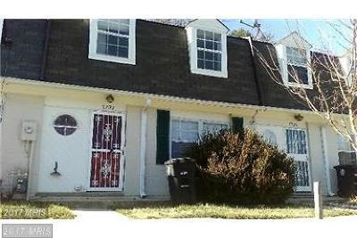 Prince Georges Townhouse For Sale: 1732 Dutch Village Drive #N-369