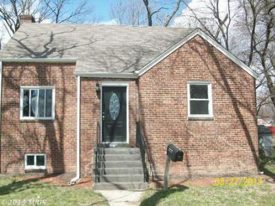 District Heights MD Single Family Home Sold: $174,900