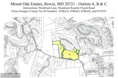 Bowie Residential Lots & Land For Sale: Westbrook Lane