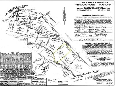 Upper Marlboro Residential Lots & Land For Sale: 8801 Grey Fox Trail