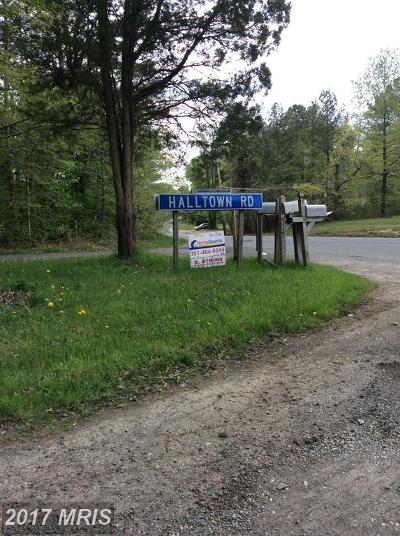 Laurel Residential Lots & Land For Sale: 11101 Charles Wesley Hall Road