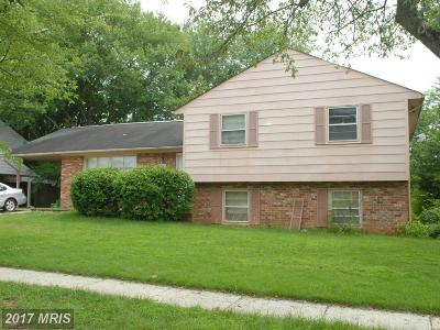 Upper Marlboro Single Family Home For Sale: 12607 Whiteholm Drive