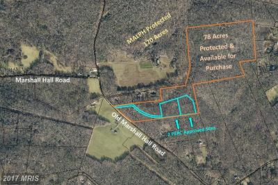 Accokeek Residential Lots & Land For Sale: 16310 Old Marshall Hall Road