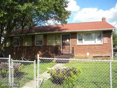 District Heights Single Family Home For Sale: 3002 Viceroy Avenue