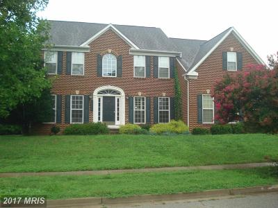 Accokeek Single Family Home For Sale: 16807 Cover Court
