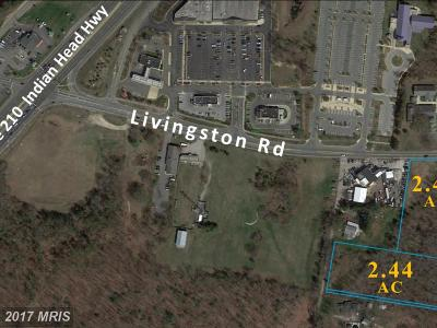 Accokeek Residential Lots & Land For Sale: 15768 Livingston Road