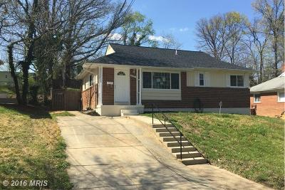 District Heights MD Single Family Home Under Contract: $194,000