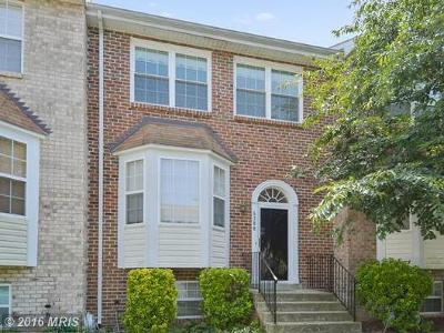 Clinton MD Townhouse Sold: $232,000