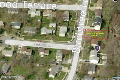 Temple Hills Residential Lots & Land For Sale: 4704 Birchtree Lane