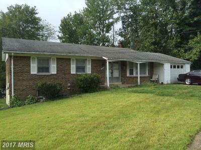Upper Marlboro Single Family Home For Sale: 9801 Cone Court