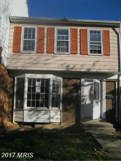 Hyattsville Townhouse For Sale: 3938 Warner Avenue
