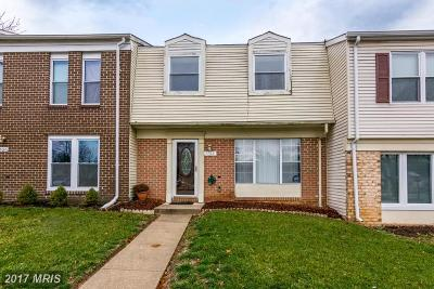 Landover Townhouse For Sale: 7722 Nalley Court