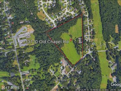 Bowie Residential Lots & Land For Sale: 13710 Old Chapel Road