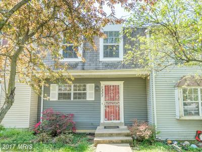 Capitol Heights Townhouse For Sale: 1337 Upcot Court