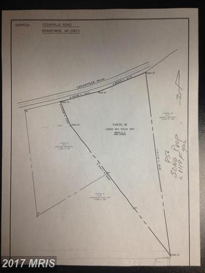 Brandywine Residential Lots & Land For Sale: 10511 Cedarville Road