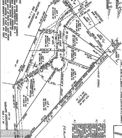 Fort Washington Residential Lots & Land For Sale: 4000 Lumar Drive