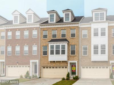 Upper Marlboro Townhouse For Sale: 4111 Winding Waters Terrace