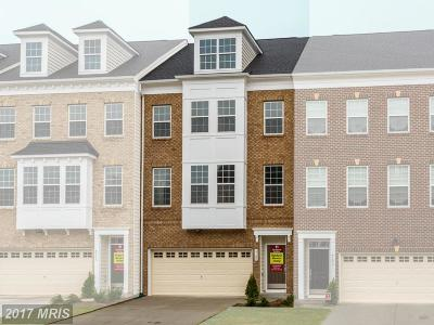 Upper Marlboro Townhouse For Sale: 4109 Winding Waters Terrace