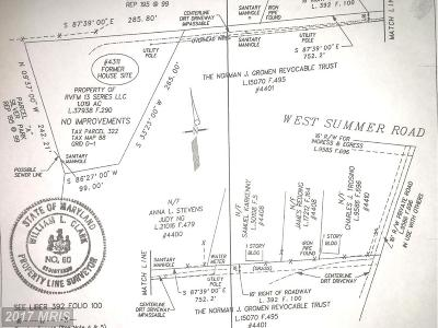 Suitland Residential Lots & Land For Sale: 4311 W Summer Road