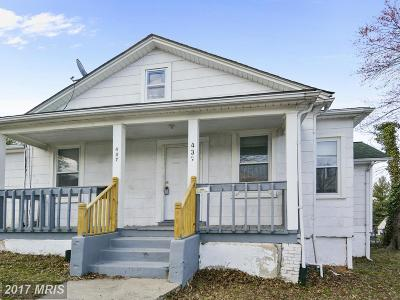 Capitol Heights Single Family Home For Sale: 437 Balboa Avenue