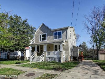 Riverdale Single Family Home For Sale: 4512 Tuckerman Street
