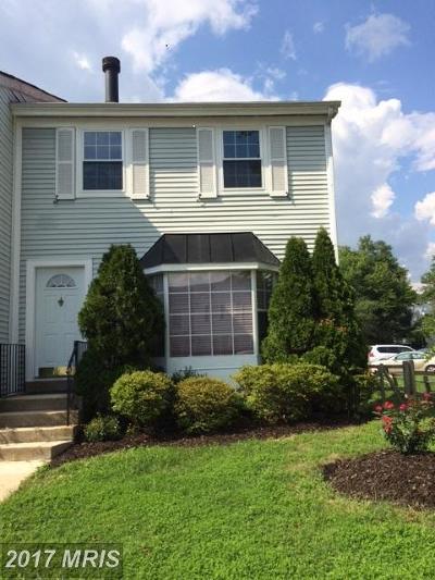 Laurel Townhouse For Sale: 8454 Snowden Oaks Place