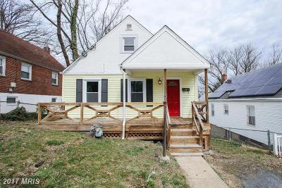 Capitol Heights Single Family Home For Sale: 4206 Byers Street