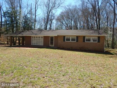 Accokeek Single Family Home For Sale: 15811 John Dailey Road