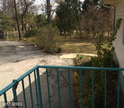 Beltsville Single Family Home For Sale: 12030 Old Gunpowder Road