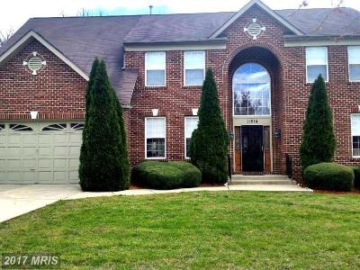 Fort Washington MD Single Family Home For Sale: $479,000