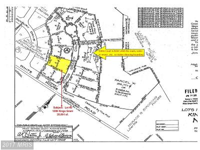 Upper Marlboro Residential Lots & Land For Sale: 1209 Kings Grant Court