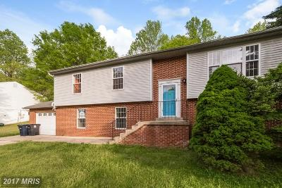 Upper Marlboro Single Family Home For Sale: 12223 McCullagh Court