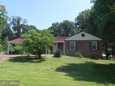 Fort Washington, Greenbelt Single Family Home For Sale: 13412 Buchanan Drive