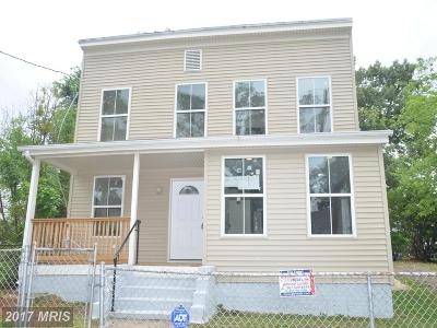 Capitol Heights Single Family Home For Sale: 5513 Brenner Street