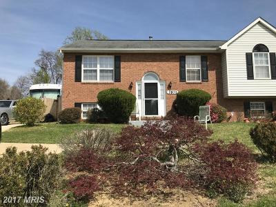 Glenarden Single Family Home For Sale: 3101 Lavall Court
