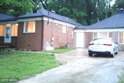 Oxon Hill Single Family Home For Sale: 804 Owens Road