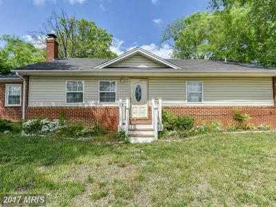 Clinton Single Family Home For Sale: 6616 Surratts Road