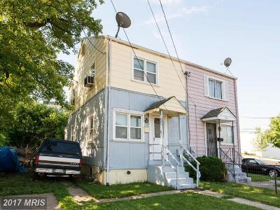 Landover Townhouse For Sale: 7003 Lombard Street