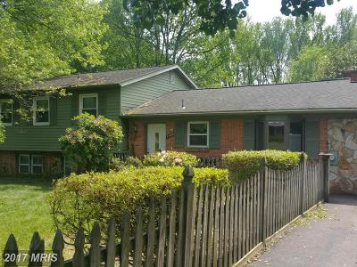 Upper Marlboro Single Family Home For Sale: 2405 Dorchester Road