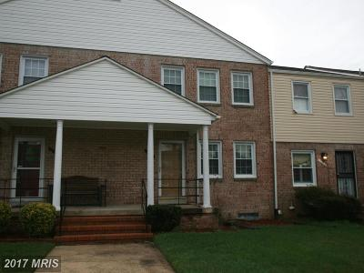 Upper Marlboro Townhouse For Sale: 12331 Chesterton Drive #81