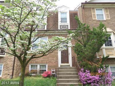 Clinton Townhouse For Sale: 5949 Surratts Village Drive