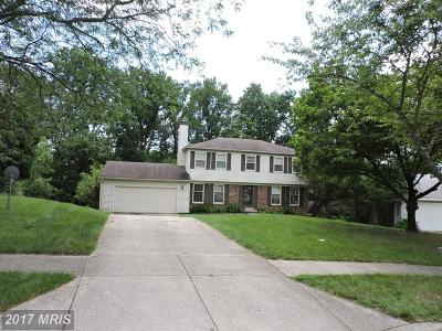 Bowie Single Family Home For Sale: 10919 Maiden Drive