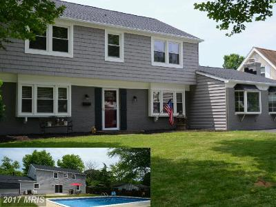 Bowie MD Single Family Home For Sale: $370,000