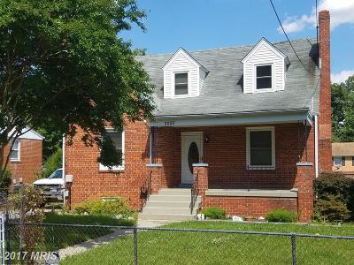 District Heights Single Family Home For Sale: 3000 Walters Lane