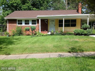 New Carrollton Single Family Home For Sale: 6207 87th Avenue