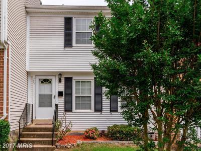 Laurel Townhouse For Sale: 8338 Snowden Oaks Place