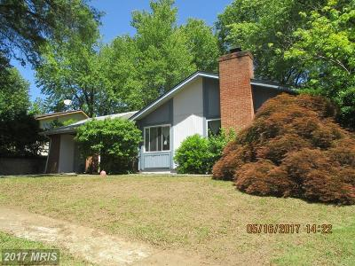 Upper Marlboro Single Family Home For Sale: 8810 Monmouth Drive