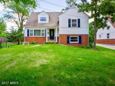 Hyattsville Single Family Home For Sale: 6806 Decatur Place