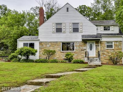 Cheverly Single Family Home For Sale: 5810 Greenleaf Road