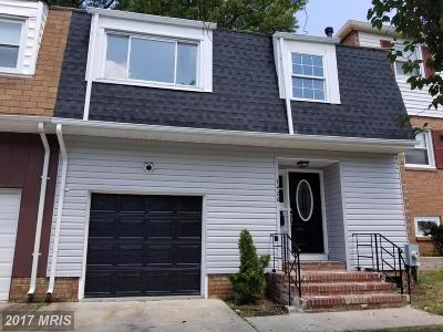 Capitol Heights Townhouse For Sale: 7426 Drumlea Road